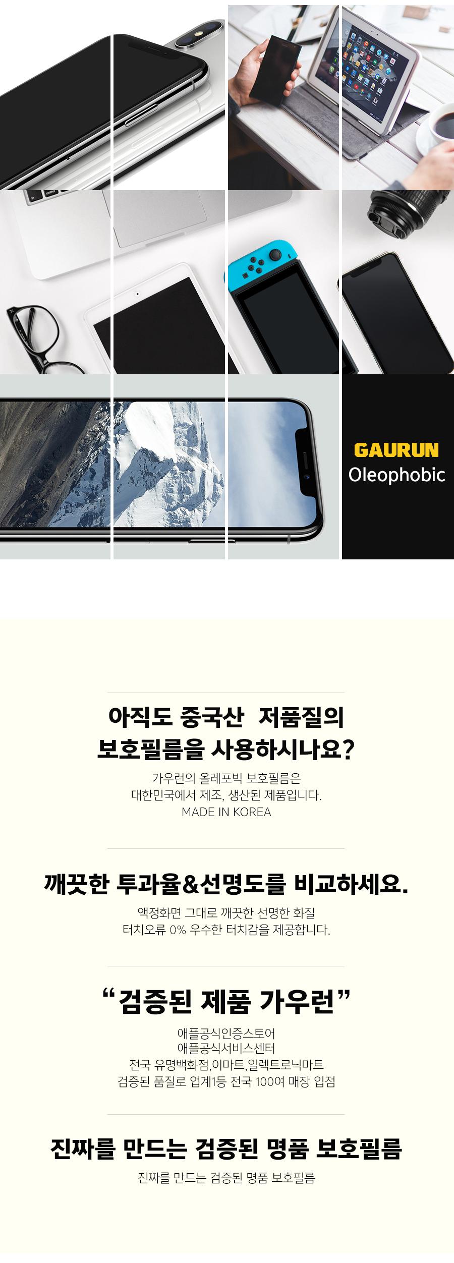 삼성 갤럭시 A80 올레포빅 액정보호필름 1매 + 무광후면 1매 SET - 가우런, 13,900원, 필름/스킨, 기타 갤럭시 제품